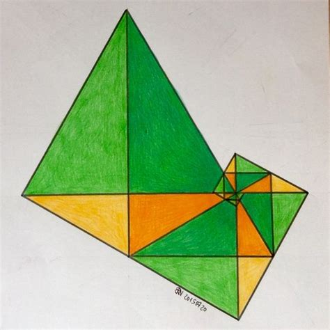 triangle pattern algebra regolo54 sangaku geometry symmetry patterns math