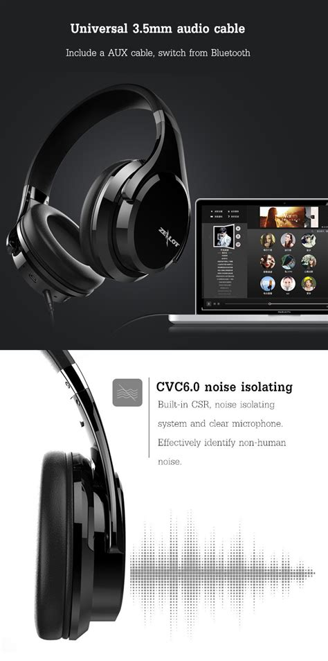 Earphone Awei S90vi With Slide Button And Microphone zealot b21 light weight slide touch button stereo aux wireless bluetooth headphone headset with