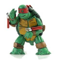 Teenage mutant ninja turtles the first turtle figure with red mask