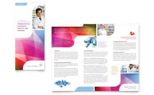 pharmacy tri fold brochure template word amp publisher