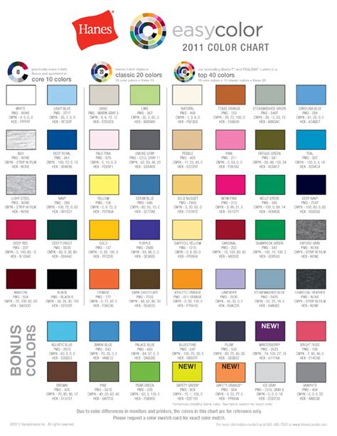 hanes t shirt colors common t shirt brands blank color swatches fetch