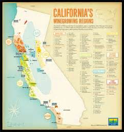 map of northern california wineries northern california wine regions map