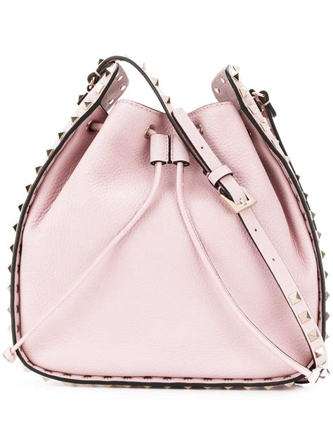 10 Valentino Bags by Lyst Valentino Rockstud Bag In Pink