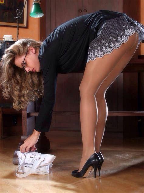 bending secretary over desk pin by royal lioness on legs for days pinterest tan