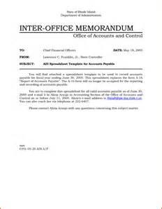 5 internal office memo format lease template