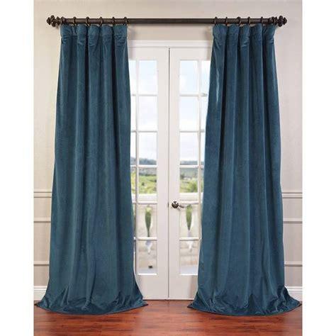 120 blackout curtains eff signature velvet 120 inch blackout curtain panel