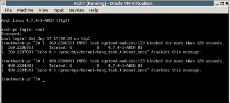 xorg tutorial linux arch linux strange message after installing xorg and