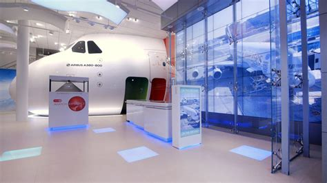 emirates london office touch screen 187 retail design blog
