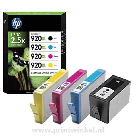 Tinta Printer Hp Officejet 6500a hp 920xl c2n92ae combo pack 4 kleuren origineel