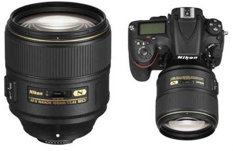 Lensa Nikon Jarak Jauh Lensa Nikon 105mm F 1 4 Si Bokeh Baru