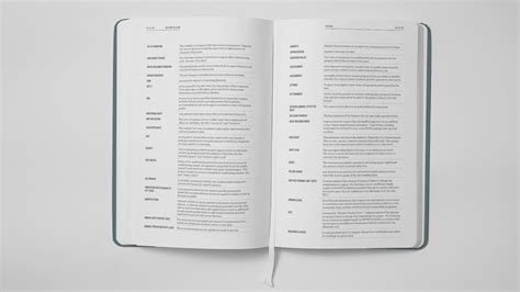 book layout glossary getting to lease sa nguyen design