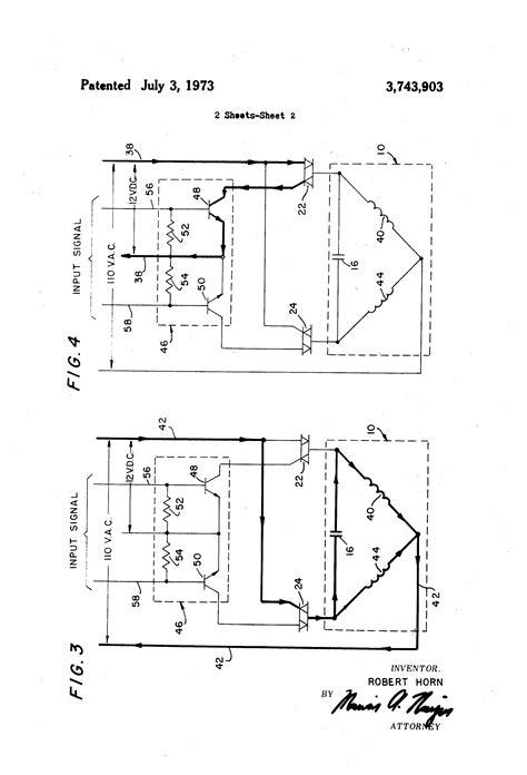 patent us3743903 single phase motor reversing starter