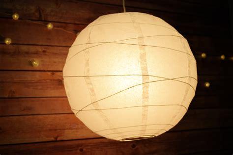 How To Make Paper Hanging Lanterns - 24 quot white paper lantern crisscross ribbing hanging