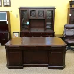 credenza and hutch set dmi oxmoor desk and credenza with hutch set 7376 365 20