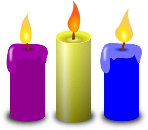 Set Lilin Purple clipart candles