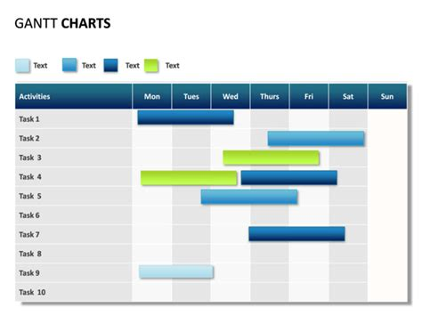 gantt chart powerpoint template free easy wire diagram easy free engine image for user manual