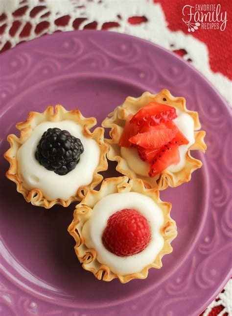 f fruit cups easy phyllo fruit cups favorite family recipes