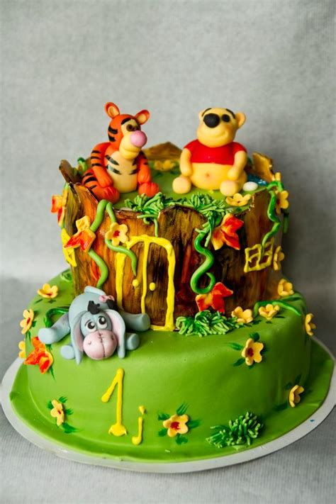 126 Best Images About Eeyore 3d Taart Winnie The Pooh