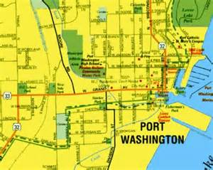 Port Washington Map by Port Washington Map
