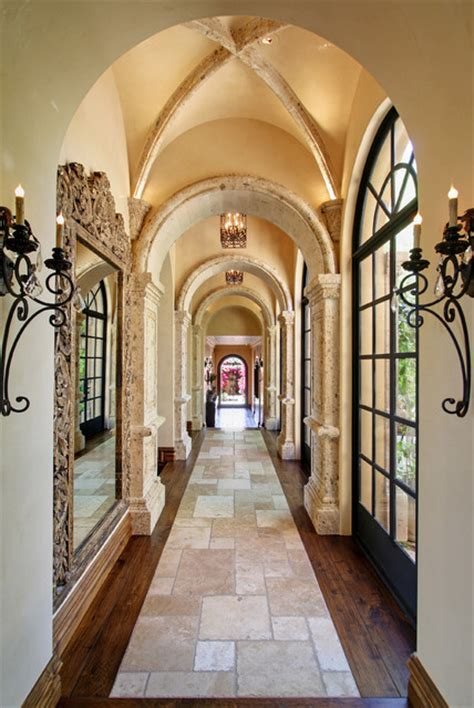 fratantoni interior designers spanish colonial detailed hallway mediterranean hall other metro by