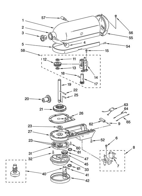 mixer diagram related keywords suggestions for kitchenaid mixer parts