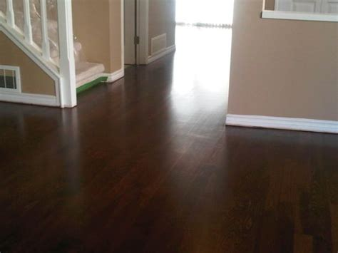 dark stained hardwood floors red oak and glitsa swedish finish all hardwood floor ltd
