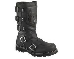 Harley davidson men s motocruz 11 inch motorcycle boots inside zipper