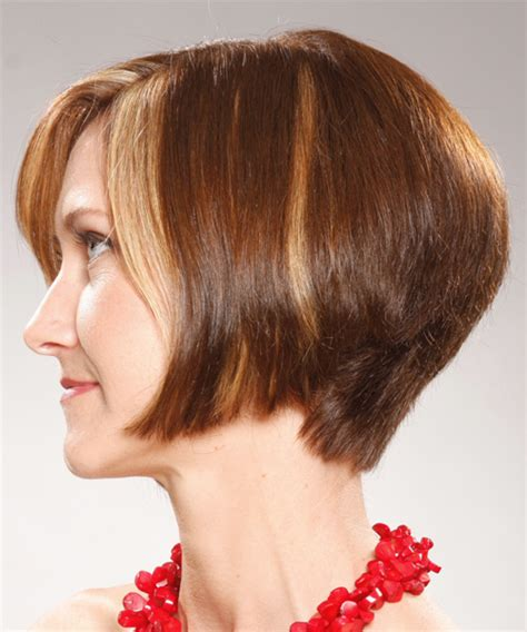 back viewsconcave bob hairstyles for fine hair back view of concave bob hairstyle