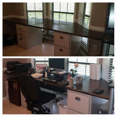 bay window desk ana white bay window standalone desk diy projects
