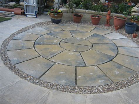 Brick Patio Patterns Design And Source The Latest Home Circular Patio Designs