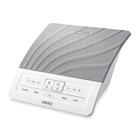 bathroom noise machine homedics 174 deep sleep i bedside portable sound machine