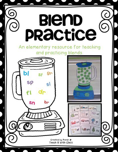 Blender Blended teach it with class blender blend unit
