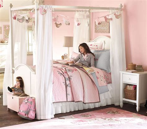 girls canopy bed  princess theme midcityeast