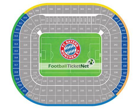 Allianz Arena Away Section by Bayern Munich Vs Eintracht Frankfurt 28 04 2018 Football
