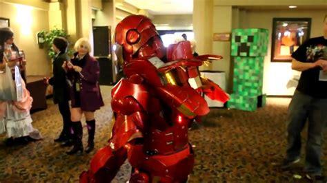 iron man cosplay youtube