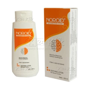 Noroid Soothing Lotion 200 Ml Untuk Kulit Kering Sensitif jual beli noroid lotion 200ml k24klik