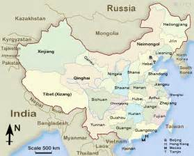 China Province Map by China S Provinces