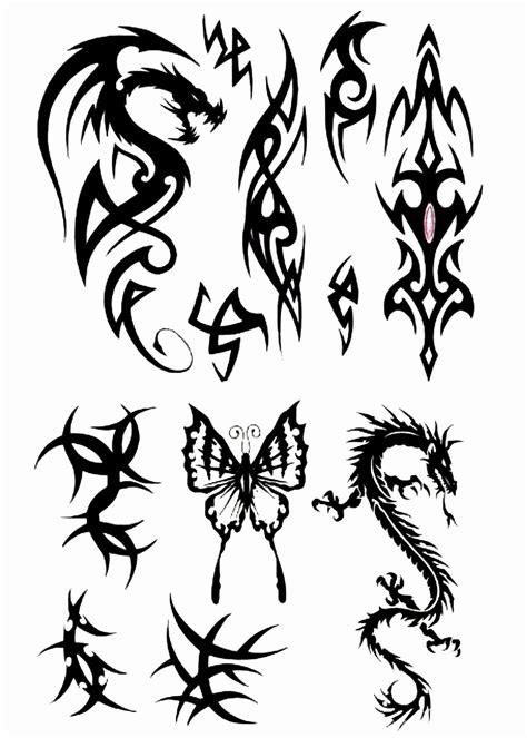 tribal tattoo flash art tribal design img17 171 tribal 171 flash tatto sets