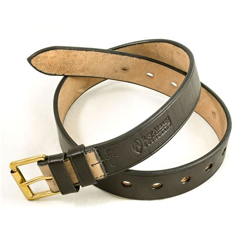 mears leather belt black