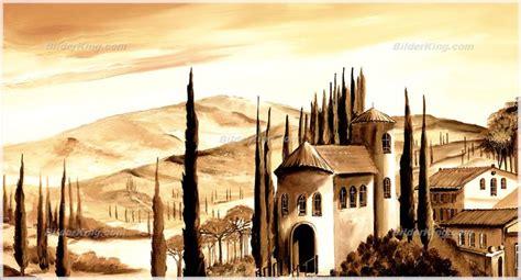 mediterrane wandbilder wandbild morro toskana italien wandbilder