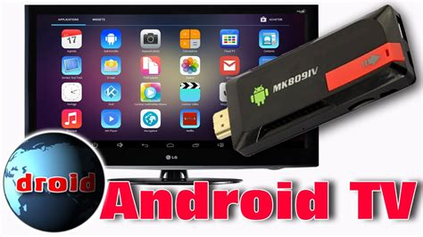 Pc Android Tv Cl 233 Usb Android Tv Sur T 233 L 233 Vision Lcd Mini Pc Andoer Mk809iv