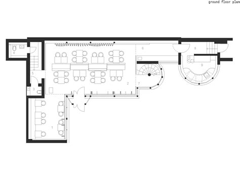 Floorplan Layout gallery of coffee c a f e drozdov amp partners 17