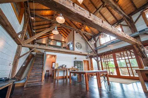 restored barn   popsugar home
