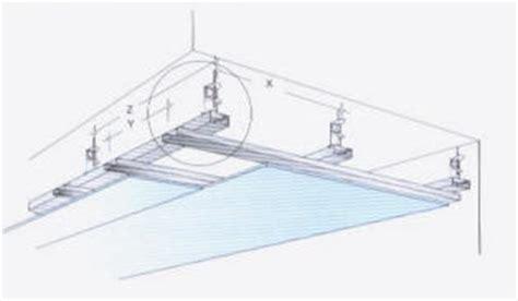 controsoffitto sezione rivestimento soffitto in cartongesso tutto su