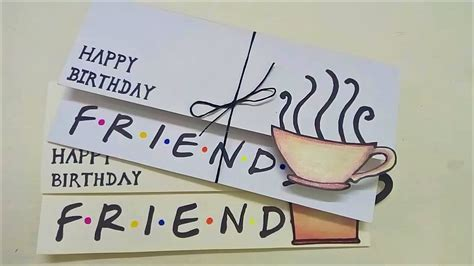 Simple Birthday Cards For Friends simple birthday card for friends friends diy