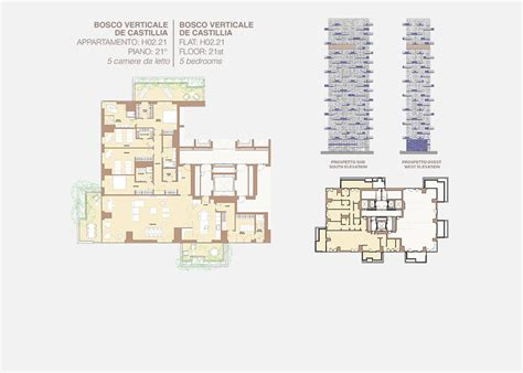 Ideal Homes Floor Plans bosco verticale residenze porta nuova