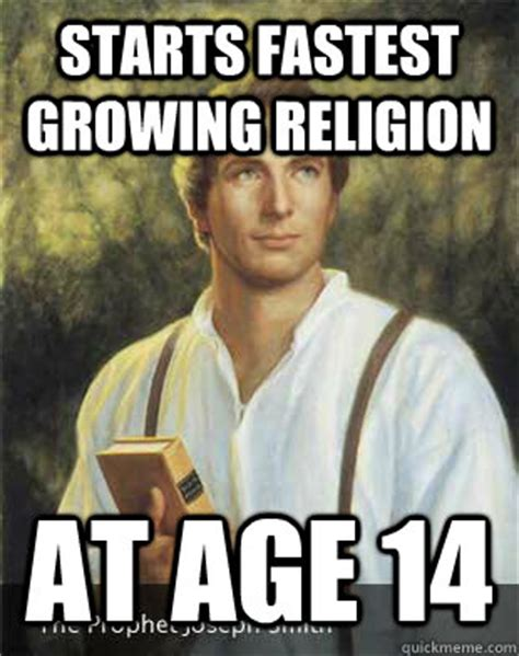 Joseph Smith Meme - has sacred golden plates won t let anyone else see