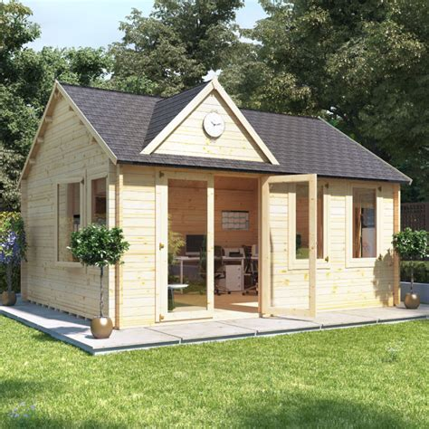 log cabin uk billyoh clubhouse home office log cabin summer houses