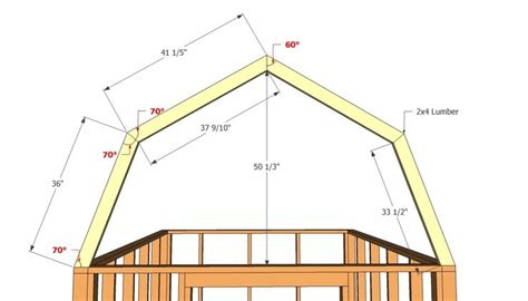 gambrel barn plans gambrel roof shed plans woodworking projects plans