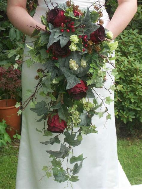 Autumn Silk Wedding Flowers by Details About Autumn Winter Hops Silk